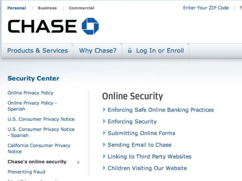 Chase Security Center