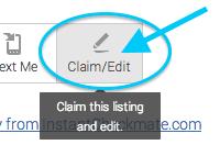 Claim your profile