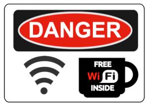 Stay away from public wifi