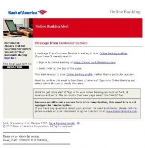 BOA Phishing