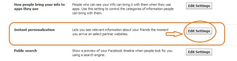 See friend info when you arrive at partner sites