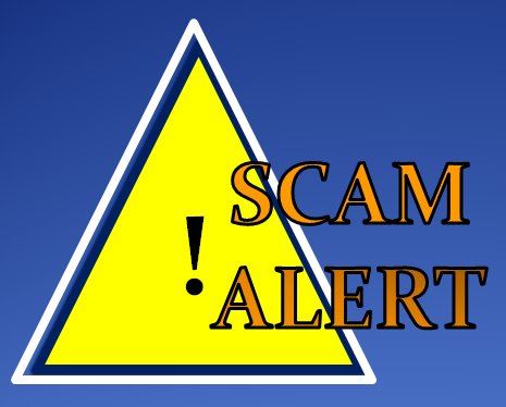 Beware of online scams
