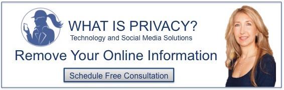 Remove online information