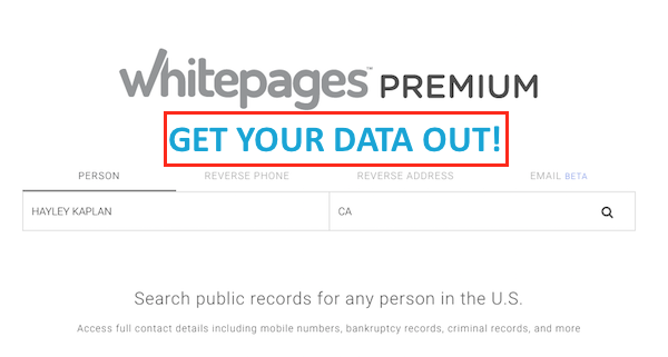 Whitepages Free & Premium Opt Out-Revised - What Is Privacy?