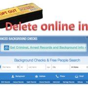 Delete your online info